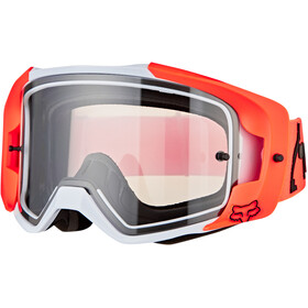 Fox Vue Dusc Goggles, fluorescent orange/clear